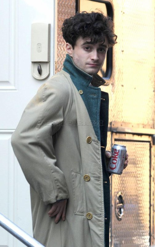 Kill your Darlings - 3rd day of filming