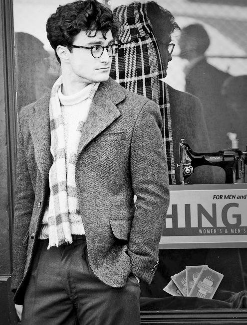 Kill your Darlings - Dan as Allen Ginsberg