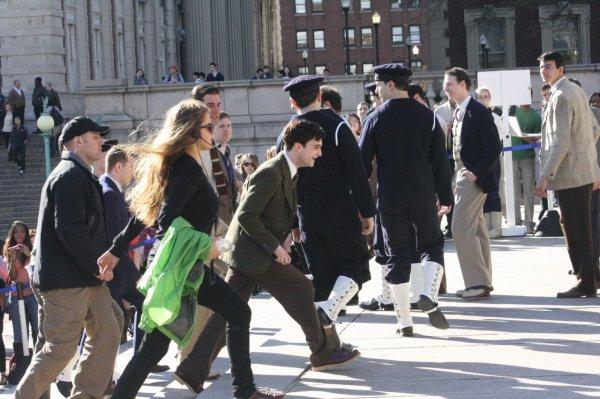 Kill your Darlings -- Filming at Columbia!