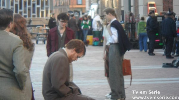 Kill your Darlings - Filming at Columbia!