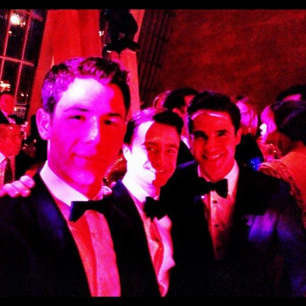 Dan Attends the 2012 Met Costume Institute Gala (3)