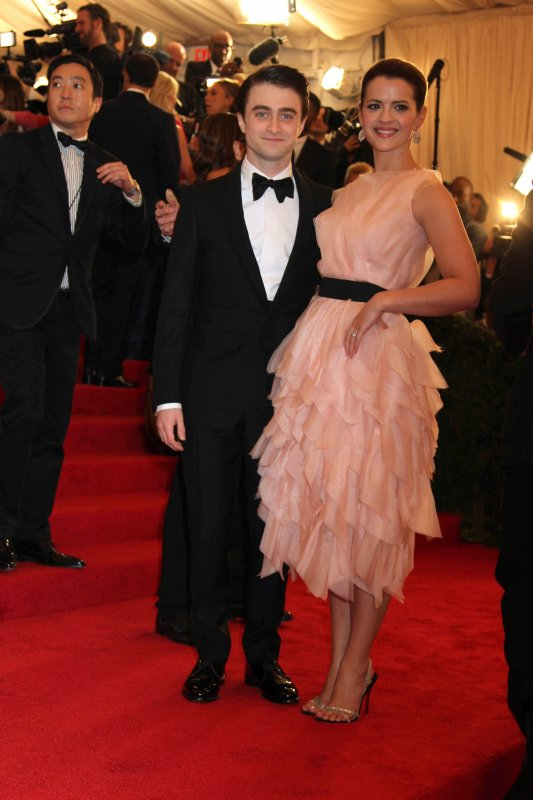 Dan Attends the 2012 Met Costume Institute Gala (4)