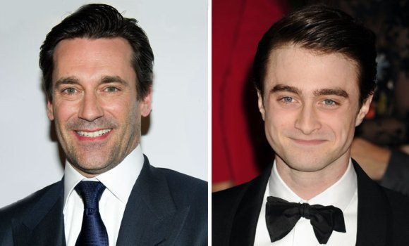 Jon Hamm hand-picked Dan to play his younger self in AYDN!