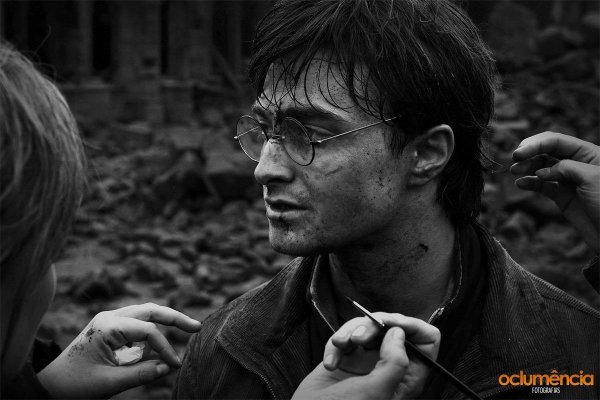 Deathly Hallows II - On Set Picture