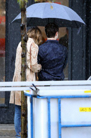 The F Word - Pictures on set (Aug 15 & 16)