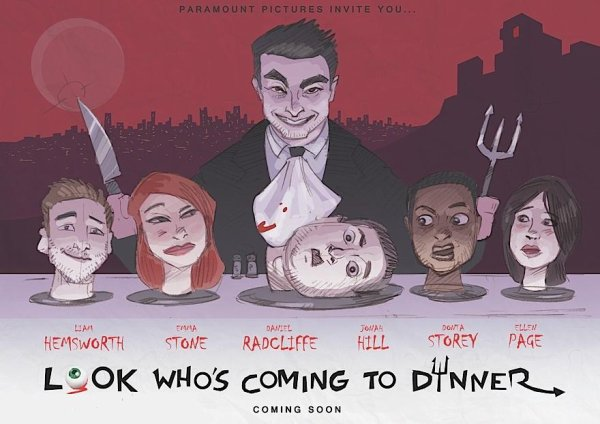 "Rumoured Project - ""Look who's coming to dinner"""