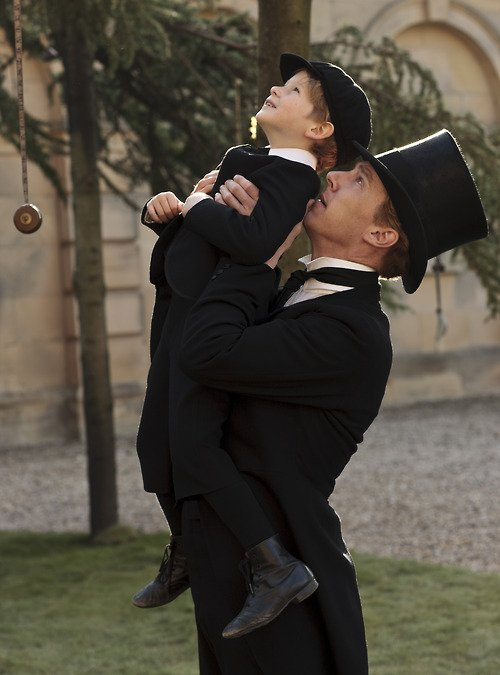 Little Misha in 'Parade's End'