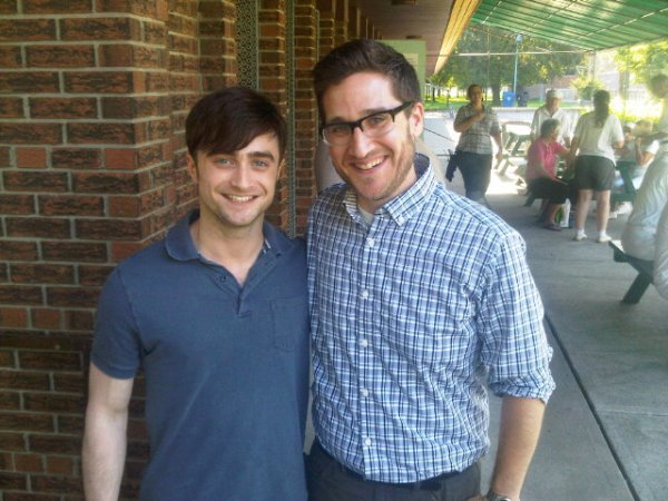 The F Word - Posing with fans, and Josh Horowitz