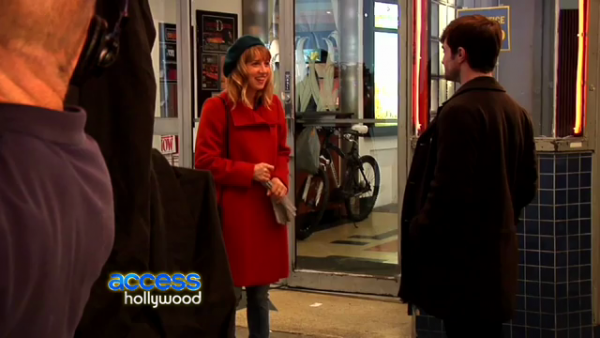 Dan's walk in the park with ET Canada and interview with Access Hollywood