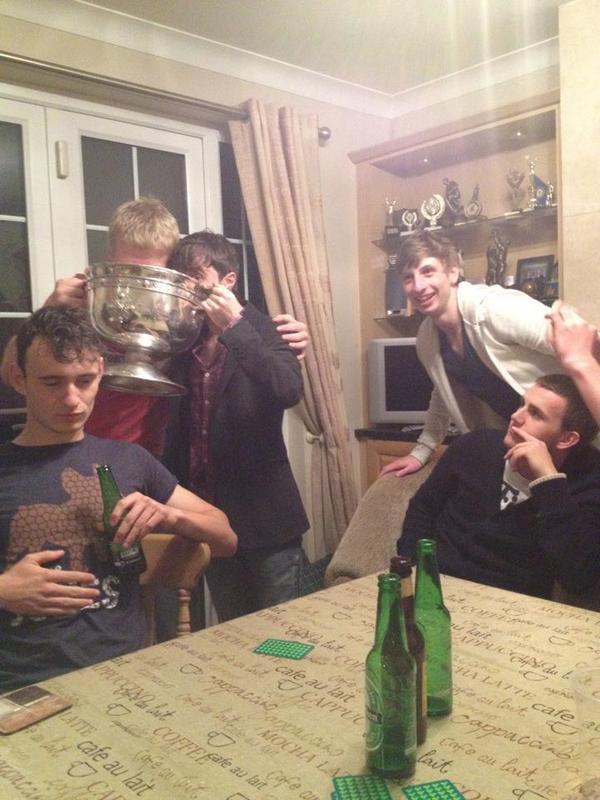 Dan enjoying a night out in Dublin :)