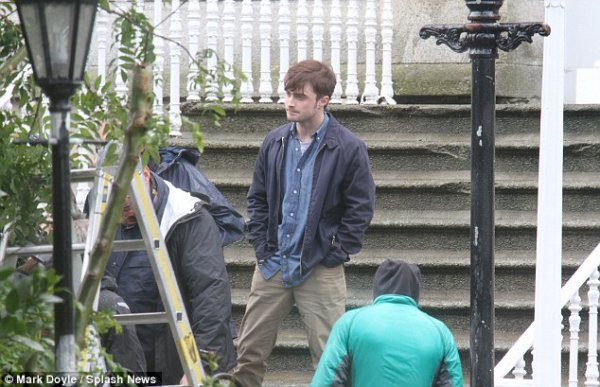 The F Word - Pictures on set (Sept 28)