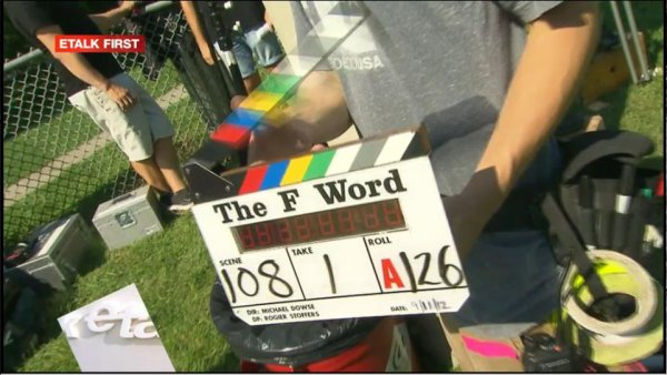 The F Word - That's a wrap!