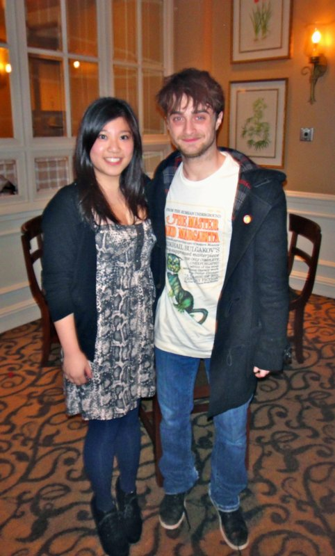 Daniel Radcliffe and the Mysterious Tee Shirt