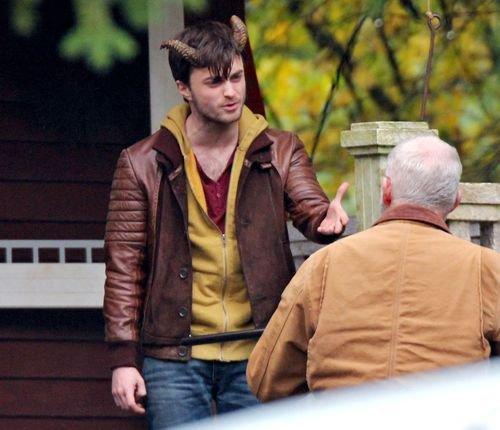 Horns - Pictures on Set [Nov 2012] (2)