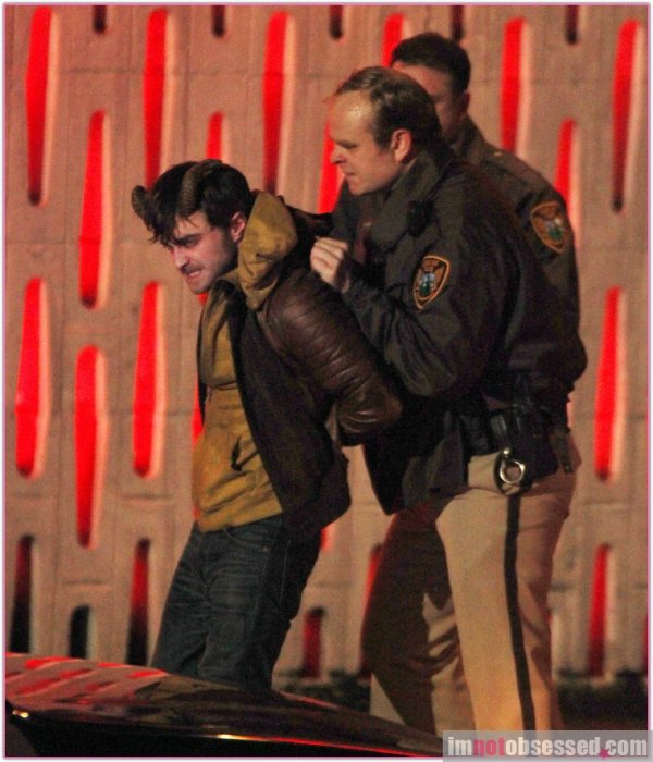Horns - Awesome Pictures of Ig Fighting Terry and Being Arrested (1)
