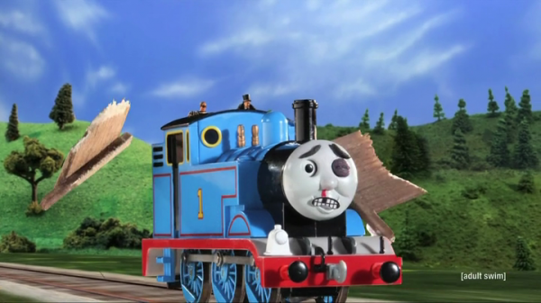 Robot Chicken - Thomas the Tank Engine and the Kool-Aid kid