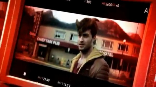 ET Canada on the set of Horns (preview)