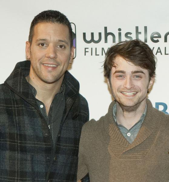 Dan attends the Whistler Film Festival