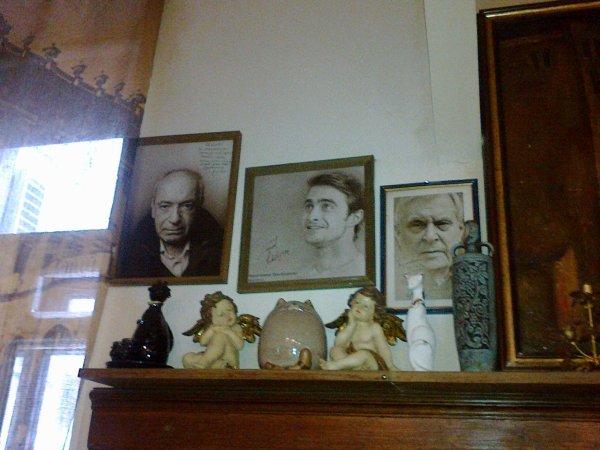 Dan's portrait in Bulgakov Museum