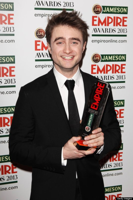 "Empire Awards 2013 - Dan Wins ""Hero Award"" and The Woman in Black Wins ""Best Horror""!"