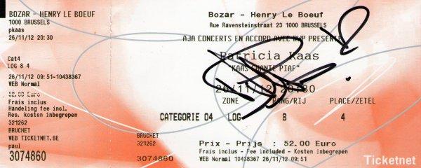 autographe bruxelles