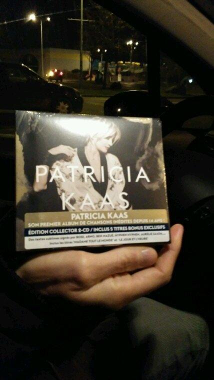 Nouvelle album de patricia