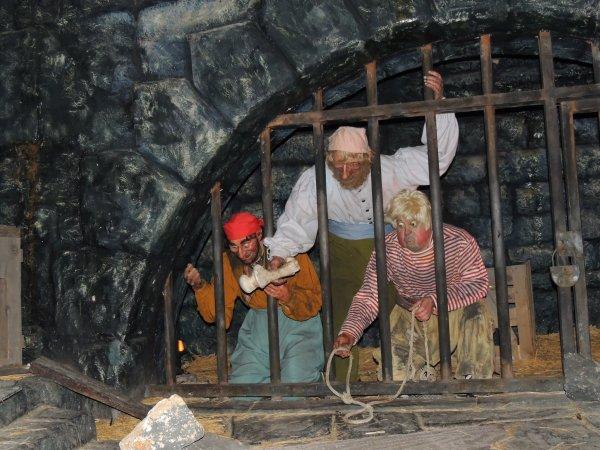 Attraction Pirates des Caraïbes Disneyland
