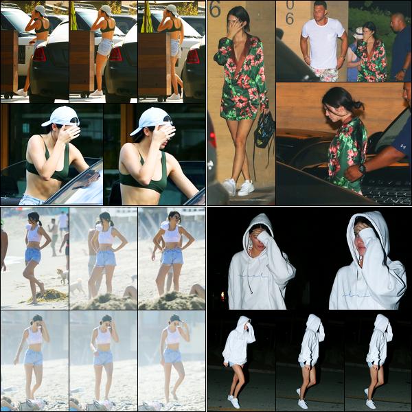 01.09.2017 ─ Kendall Jenner a été photographiée, alors, qu'elle au « Soho Beach House », étant, à Miami, Floride.Le lendemain, et le surlendemain, la belle mannequin Kendall a été photographiée en compagnie de Blake Griffin encore une fois.. Ses tenues sont tops !