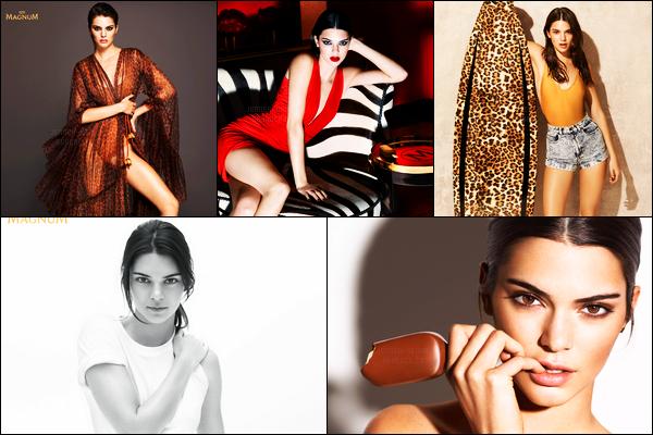 Découvrez le nouveau photoshoot pour la marque «Magnum» de Kendall !