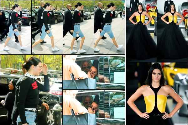 12.09.2017 ─ Kendall Jenner a été photographiée alors qu'elle arrivait au défilé « Ralph Lauren », dans New-York.La belle a donc défilé pour la célèbre marque... Je n'aime pas trop sa tenue quand elle arrive au défilé. Celle du défilé, j'aime bien, c'est un top pour moi !