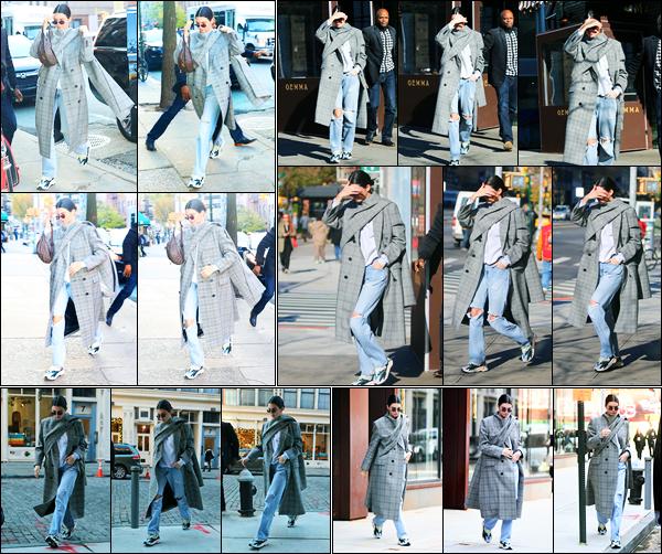 20.11.2017 ─ Kendall Jenner a été photographiée arrivant puis quittant le restaurant « Gemma », dans New-York.Plus tard dans la journée, Kendall a été photographiée arrivant puis quittant l'appartement de Daniel Chetrit à NY. Sa tenue est un gros top pour ma part