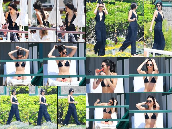 14.05.2016 ─ Kendall Jenner a été photographiée, alors, qu'elle était à son hôtel « Cap-Eden-Roc » dans Antibes.La jeune mannequin Kendall s'est rendue à la soirée de Vanity Fair and Chopard toujours à son hôtel ! Kendall était sublime, c'est un jolie top de sa part.