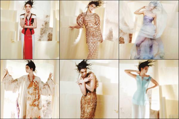 """"""" Découvrez le shooting, très décalé, de Kendall Jenner pour - « V Magazine #101 » !  'C'est un tout autre style qu'a choisi de porter la jolie brune. Kendall Jenner est la muse de Karl Largerfeld pour ce numéro. Eurk.. Et toi, tu aimes ? """""""
