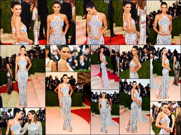 02.05.2016 ─ Kendall Jenner assitait au gala de charité « MET Gala 2016 » au Metropolitan Museum à New-York.Kendall J. était vêtu de la marque Versace pour poser sur le tapis rouge. Sa mère a posé sur le tapis, tout comme sa soeur, Kylie Jenner... Des avis ?!