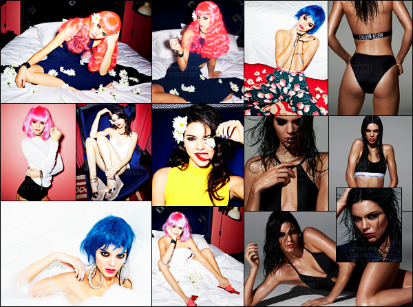 Découvrez le nouveau photoshoot pour le magazine « LOVE » de Kendall J.