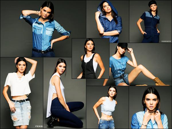 Découvrez le nouveau photoshoot pour la marque « Penshoppe » de Kendall