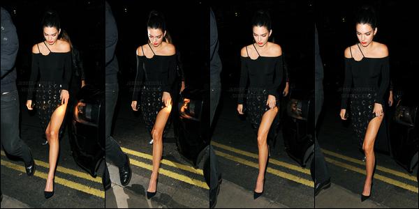 26.05.2016 ─ Kendall Jenner était présente, au lunch, de la marque « The Estee Edit » à Selfridges, dans Londres.La mannequin, s'est donc rendue, au launch de la marque dont elle est l'égérie, elle était magnifique c'est un top ! Plus tard, elle rentrait à son hôtel.