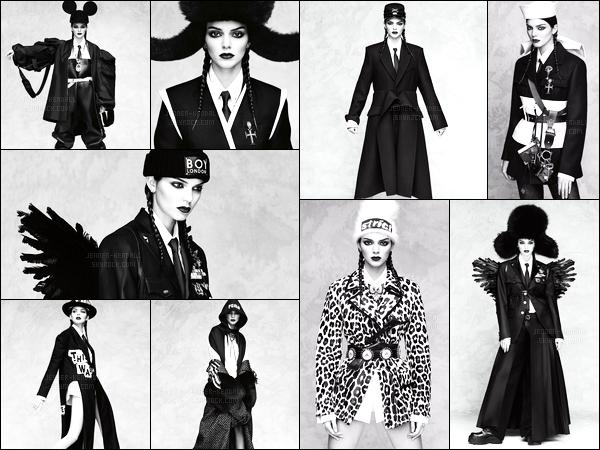 Découvrez le photoshoot pour le magazine « Vogue Japan » de Kendall.