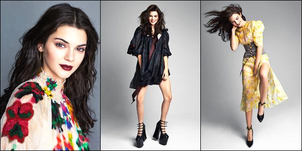 Découvrez le nouveau photoshoot pour « Allure magazine » de Kendall J.