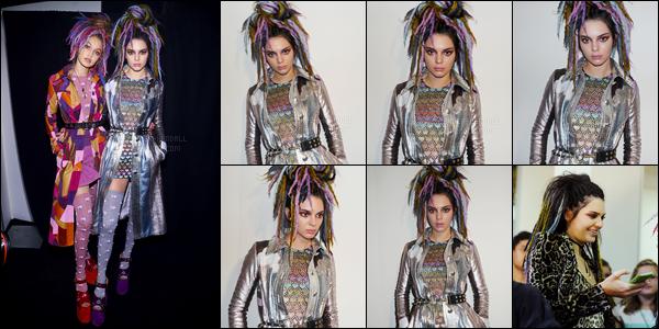15.09.2016 ─ Kendall Jenner a défilé pour la marque «Marc Jacobs», pour Spring/Summer, pour la fashion week.La jeune mannequin enchaîne les défilés ces jours-ci ! Les tenues sont vraiment très spécial. Kendy a défilé avec ces amis Bella Hadid et Gigi Hadid.