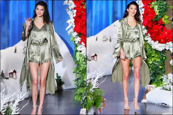 15.11.2016 ─ Kendall Jenner était présente sur le plateau de « The Ellen Degeneres Show », étant, à Los Angeles.Kendall Jenner a aussi révélée lors de l'interview la raison de la suppression de son compte... Je la trouve magnifique, lors de cette émission, vous ?