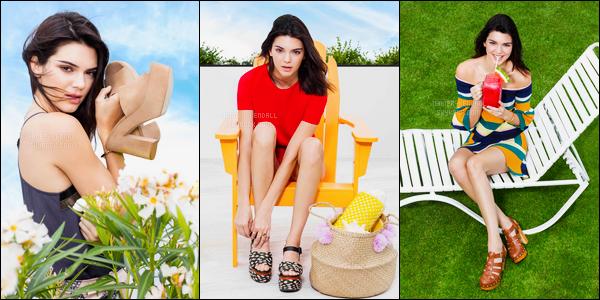Découvrez le photoshoot pour Tiendas Paris - Sandalias de Kendall Jenner !