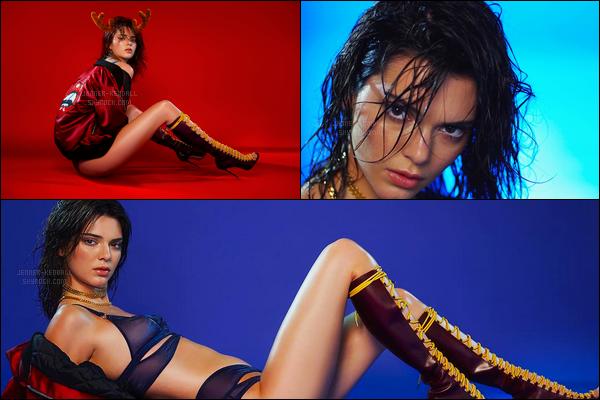 Découvrez des photos du shoot pour « LOVE Advent » de Kendall Jenner !