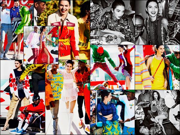Découvrez les photos du photoshoot de « Vogue US » de Kendall Jenner !