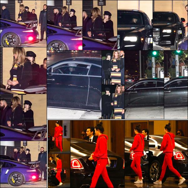07.01.2017 ─ Kendall Jenner a été photographiée, pendant, qu'elle quittait le restaurant Nobu, étant dans Malibu.Kendall Jenner été accompagnée de Caitlin, nous avons que des photos de mauvaise qualité. Le lendemain, K a été vue quittant le Montage Hotel, BH