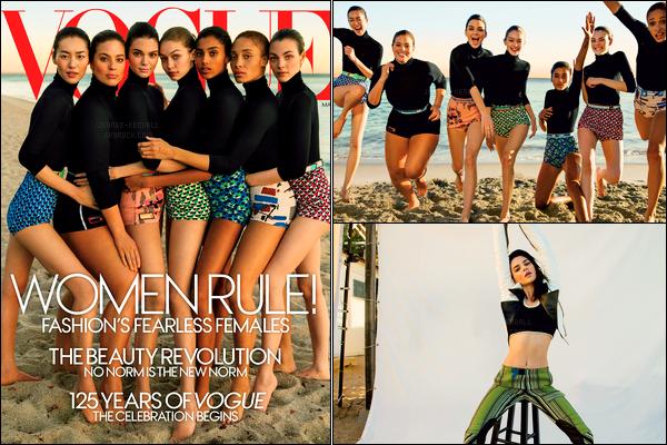 Kendall Jenner fera la couverture de « Vogue US » du mois de février 2017 !