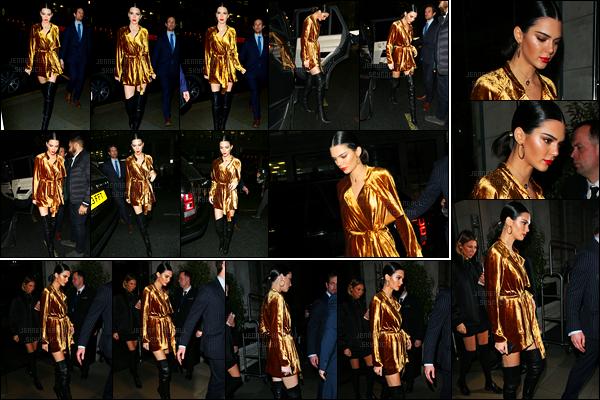 20.02.2017 ─ Kendall Jenner a été photographiée, alors, qu'elle arrivait à un magasin, étant, dans Londres, UK.Un peu plus tôt, Kendall a été photographiée quittant son hôtel... Concernant sa tenue, pour ma part, c'est un très beau top de ma part.. Vos avis ?