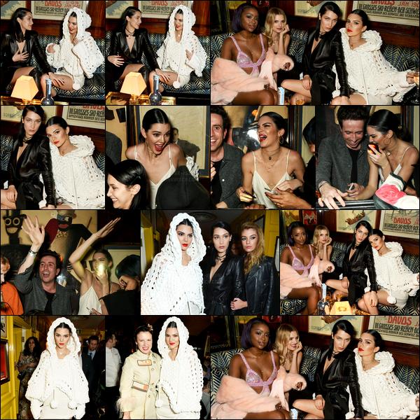 20.02.2017 ─ Kendall Jenner était présente lors de la soirée « LOVE & Burberry », se déroulant dans Londres, UK.La soirée était à son honneur ainsi qu'à Katie Grand. Elle a été vue arrivant/quittant le Annabel's Mayfair pour se rendre au Cirque du Soleil... Un top !