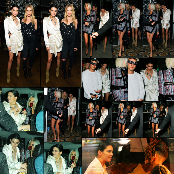 27.03.2017 ─ Kendall Jenner était présente à la diffusion du trailer du film « Valerian », étant, dans Los Angeles.Lors de la soirée, elle a posée avec Lily Donaldson. Elle a été vue quittant la soirée en compagnie de Lily et Cara Delevingne. C'est un top pour moi !