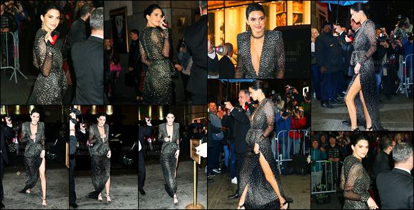 19.04.2017 ─ Kendall Jenner était présente lors du 150e anniversaire de Harper's BAZAAR étant à New-York City.La belle Kendall Jenner été accompagnée de sa maman lors de la soirée. Plus tôt, elle a été vue arrivant au Rainbow Room. Sa tenue est un beau top